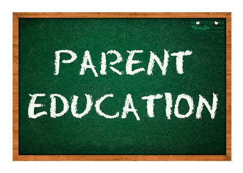 Image used for Parent Education promotion