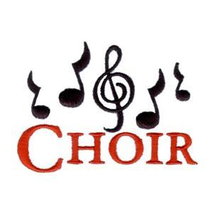 Graphic used for Choir