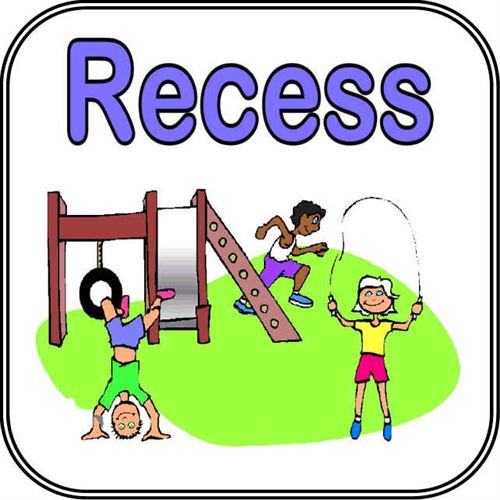 Graphic used for recess