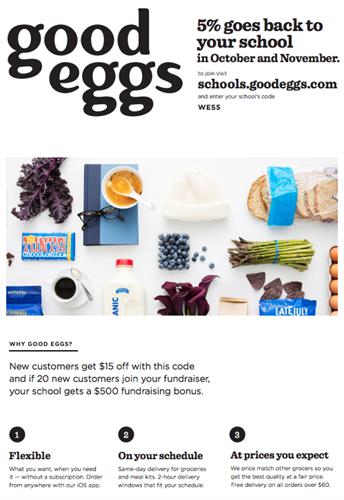 Woodside School District - Good Eggs