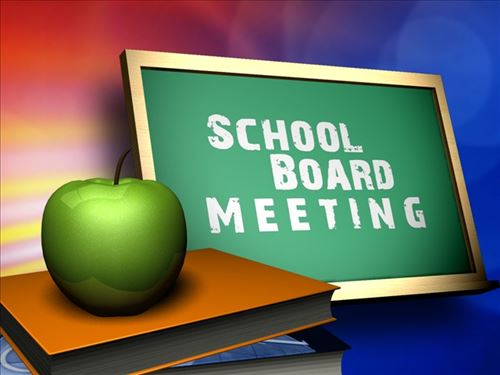 Image used for promotion of School Board Meeting